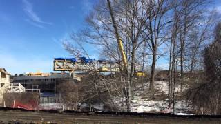 Removal Of The Wayfarer Inn & Convention Center's Pedestrian Bridge
