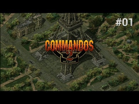 Let's Play Commandos 2 Men of Courage [Episode 1] - Training Mission 1 & 2 thumbnail