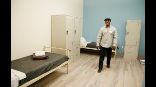 JUNCTION PLACE: City opens a new shelter for homeless men