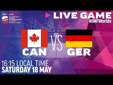 Canada Vs. Germany   Full Game   2019 IIHF Ice Hockey World Championship