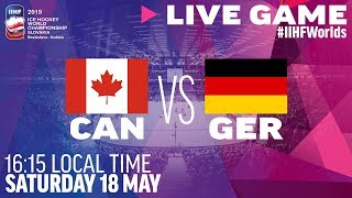 Canada vs. Germany | Full Game | 2019 IIHF Ice Hockey World Championship