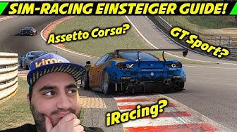 Mit welcher Rennsimulation starten? | Sim Racing Anfänger / Einsteiger Guide