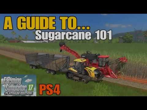 Farming Simulator 17 PS4: A Guide to... Sugarcane 101 (Estancia Lapacho)