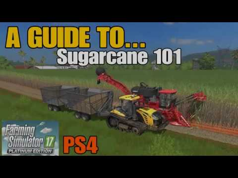 Farming Simulator 17 PS4: A Guide to... Sugarcane 101 (Estancia Lapacho) thumbnail