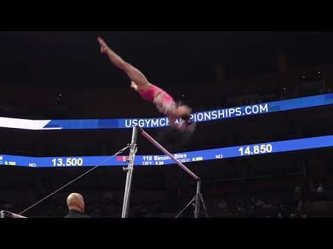 Kara Eaker - Uneven Bars - 2018 U.S. Gymnastics Championships - Senior Women Day 1