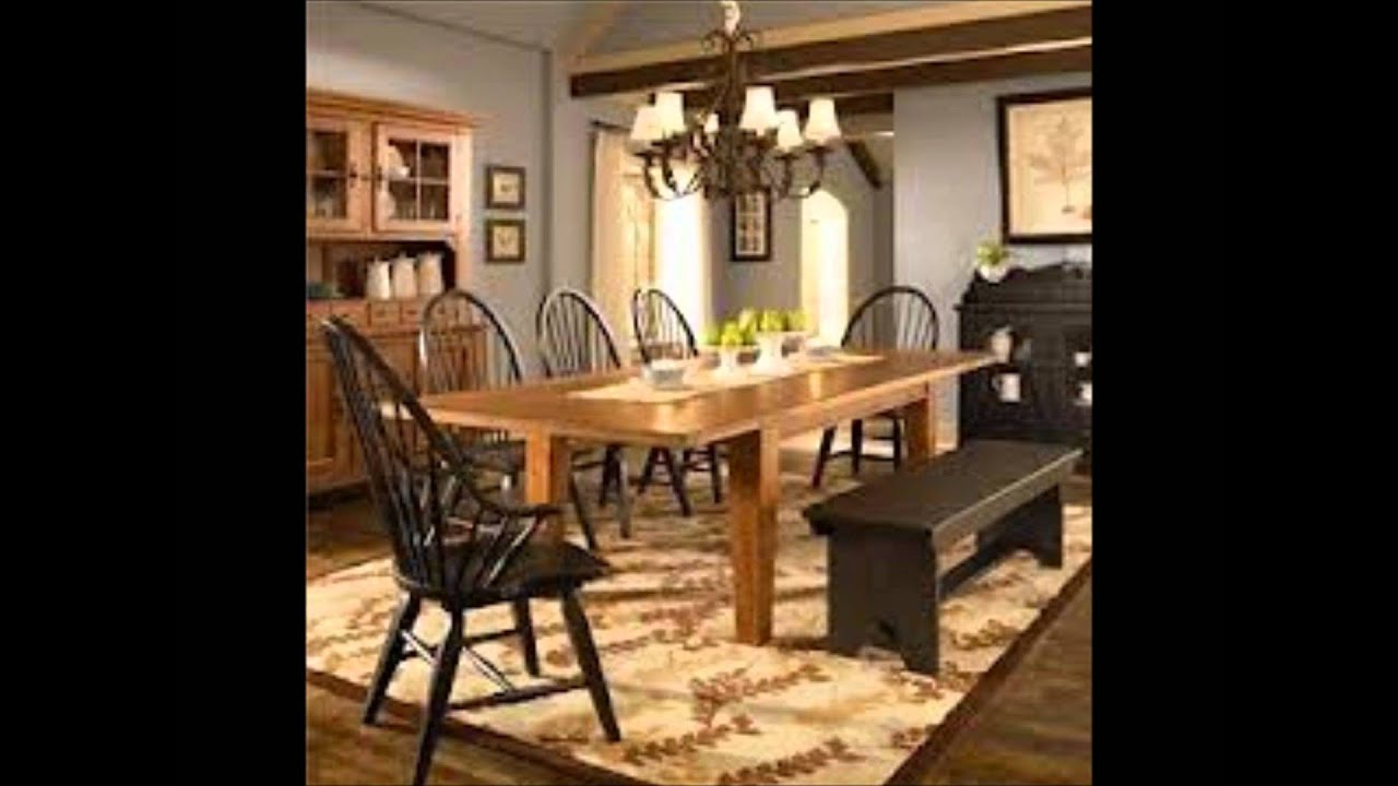 Broyhill attic heirlooms collection youtube Kitchen table in living room