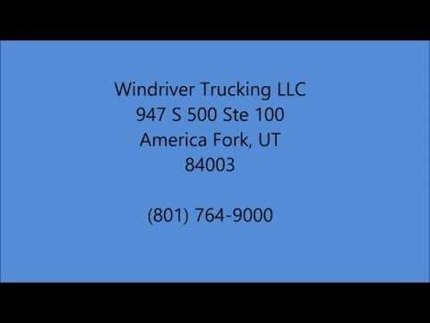 Flowback Jobs in Dickinson, UT - (801) 764-9000 - Windriver Trucking LLC
