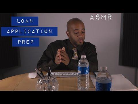 ASMR Loan Application Prep | Soft Spoken | Typing