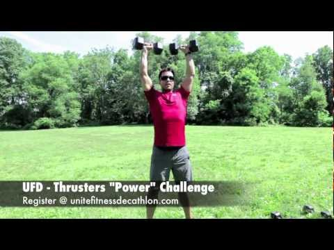 UFD Instructions for the 10 Fitness Challenges in the Unite Fitness Decathlon