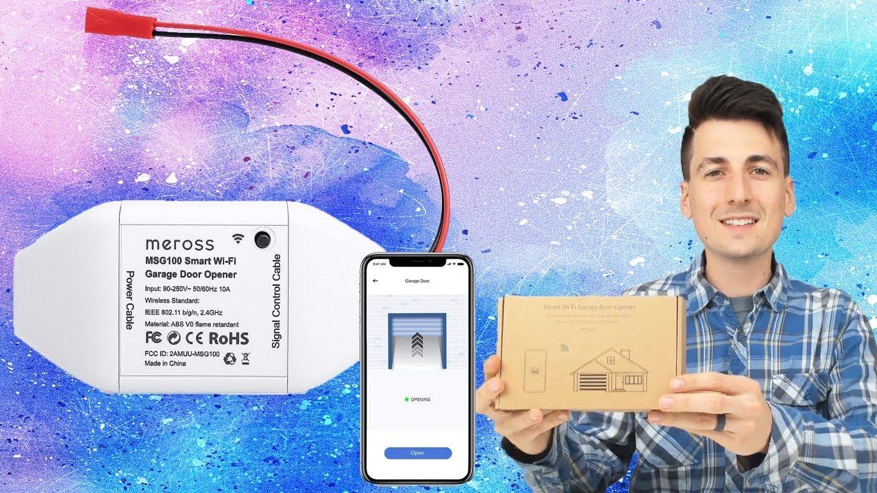 meross Smart Wi Fi Garage Door Opener Installation & Review