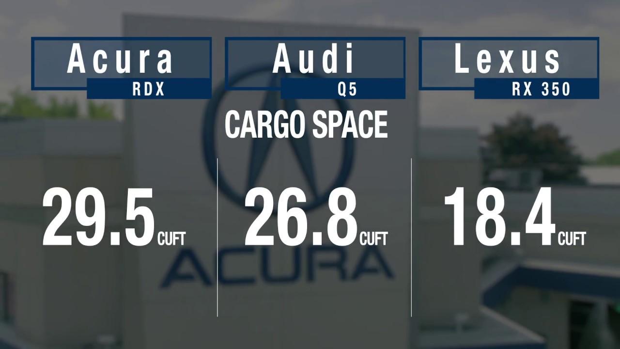 Rdx Vs Rx350 >> 2019 Acura Rdx Vs Lexus Rx And Audi Q5 Youtube