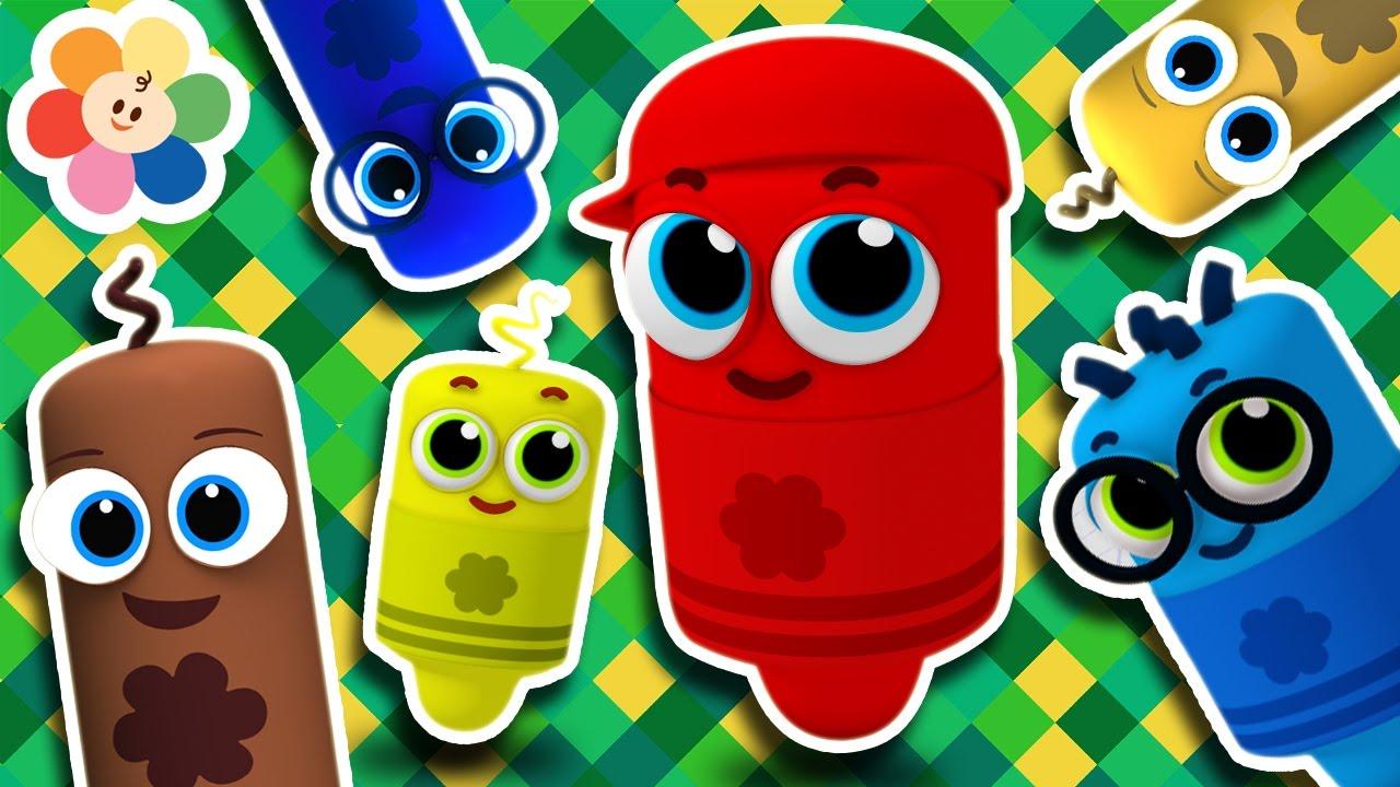 Todos Lo Canciones Para Nios Canciones Infantiles En Espaol Pandilla De Colores 3D