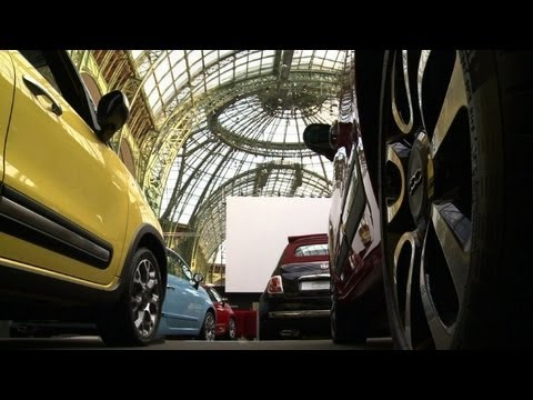 Paris: le Grand Palais transformé en Drive-in