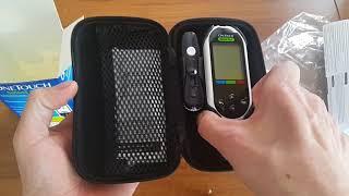 обзор Глюкометра One Touch Select Plus. Как он работает? Как взять кровь из пальца?