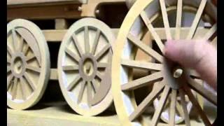 Wooden Model Train