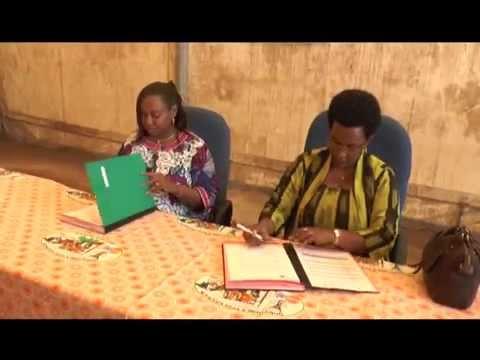 Remise Kits ASC/DBC par l'UNFPA Burundi - 27/03/2014