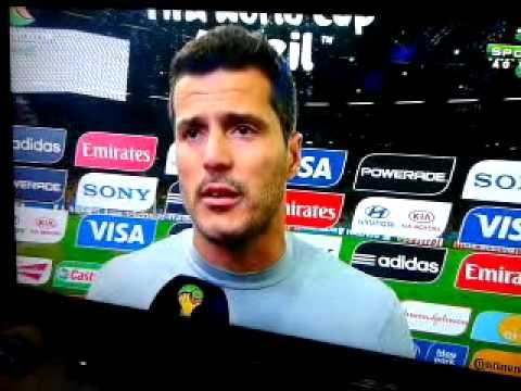 Pos jogo Brasil x Alemanha / post match / speeches