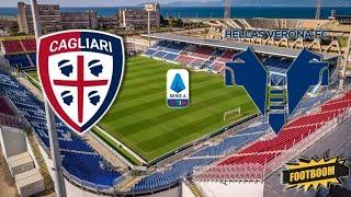 Прогноз на матч Чемпионата Италии Кальяри Верона смотреть онлайн безплатно 03 04 2021