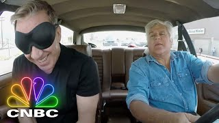 Tim Allen Has To Guess The Car Jay's Driving Him In | Jay Leno's Garage