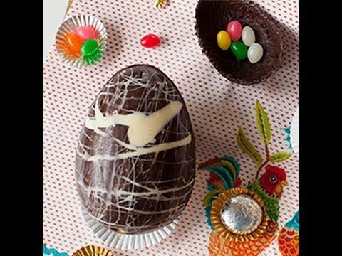 Come fare in casa le uova di cioccolato di pasqua - Uova di pasqua in casa ...