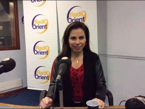 Interview de Géraldine Poirault-Gauvin sur Radio Orient - Pluriel