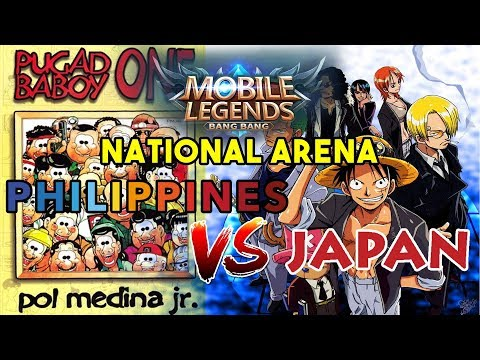 Philippines vs Japan - National Arena - Mobile Legends: Bang Bang