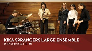 Kika Sprangers Large Ensemble - Improvisatie #1 (TivoliVredenburg Unplugged)