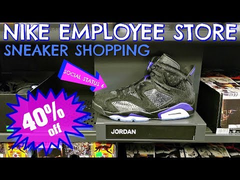 40% Off SOCIAL STATUS 6's | NIKE EMPLOYEE STORE Shopping