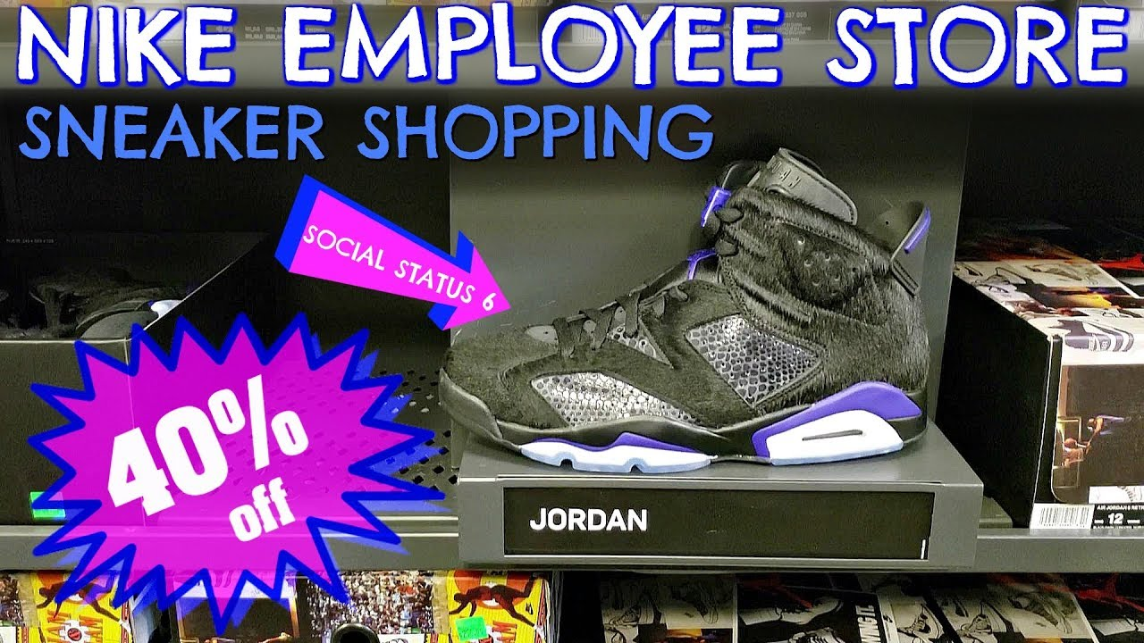 a2d4059db2c 40% Off SOCIAL STATUS 6's | NIKE EMPLOYEE STORE Shopping
