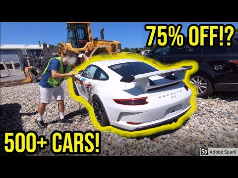 Copart salvage auction walkaround featuring wrecked budget project cars like goonzquad and samcrac