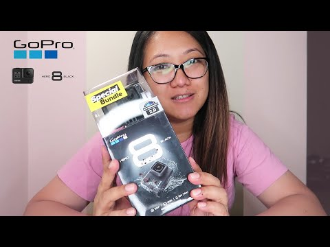 GoPro HERO8 Black 4k Action Camera Unboxing