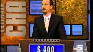 Jeopardy! 5-20-2005 Chris/John/Brad (Part 1)