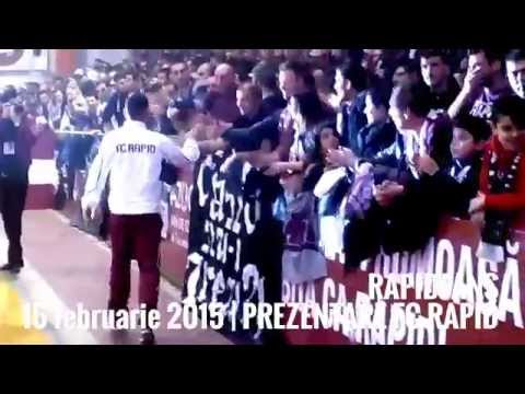 6| PREZENTAREA LOTULUI FC RAPID BUCURESTI | momente unice