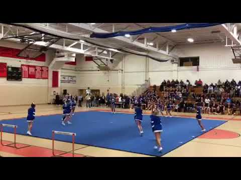 Narragansett Middle School Cheering Comp. 2017