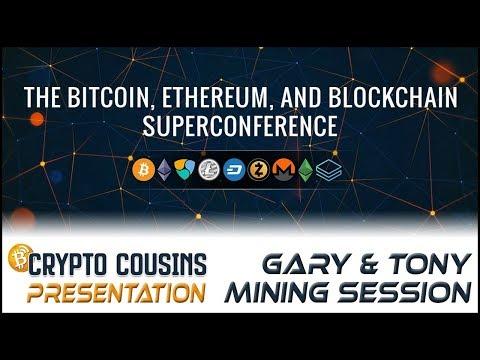 Speaking On Mining Cryptocurrency At The 2018 Bitcoin, Ethereum, Blockchain Super Conference 2018