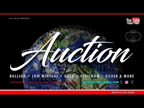 World Coin Auction - Gold, Platinum, And Pre-1900 Foreign Silver