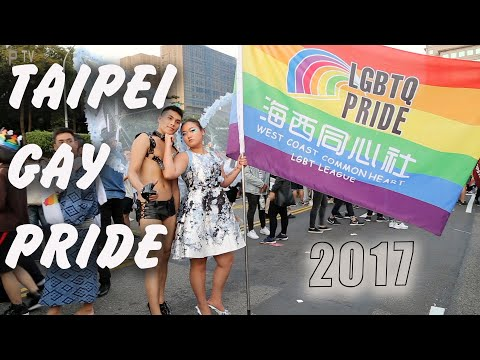 Here is Taipei Gay Pride 2017 Taiwan