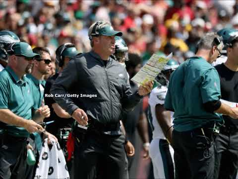 John McMullen talks situation at Left Guard and latest from Eagles practice