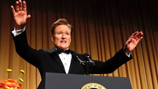Repeat youtube video Conan O'Brien at the 2013 White House Correspondents' Dinner - Complete