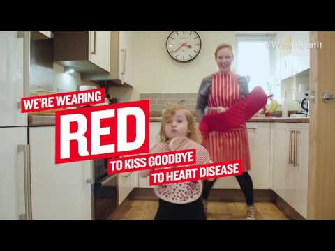 Wear It Beat It for the British Heart Foundation