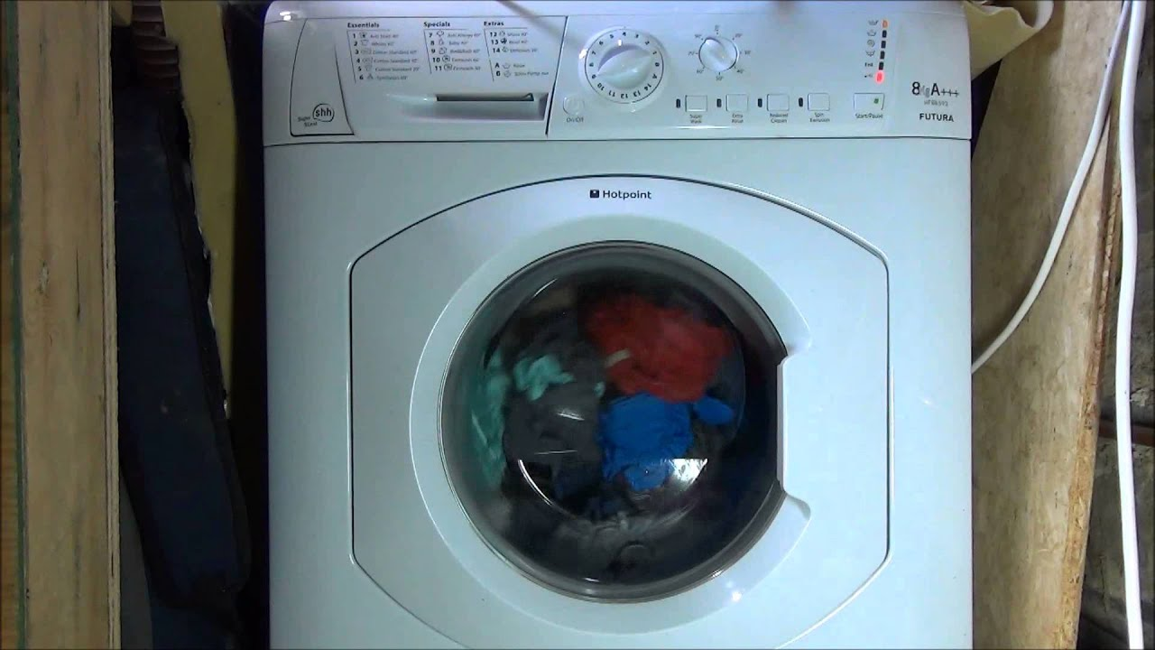 standard washing machine