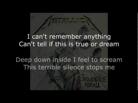 Metallica - One Lyrics (HD)