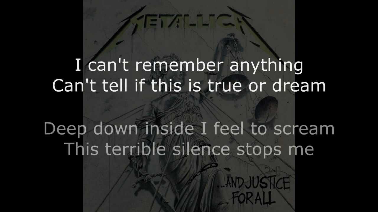 Metallica - One - YouTube