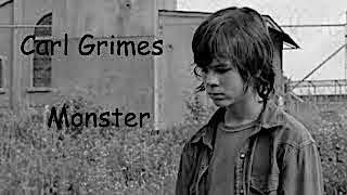 carl grimes i feel like a monster