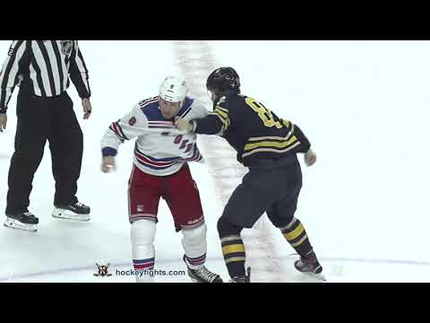 Cody McLeod vs Nathan Beaulieu Oct 6, 2018