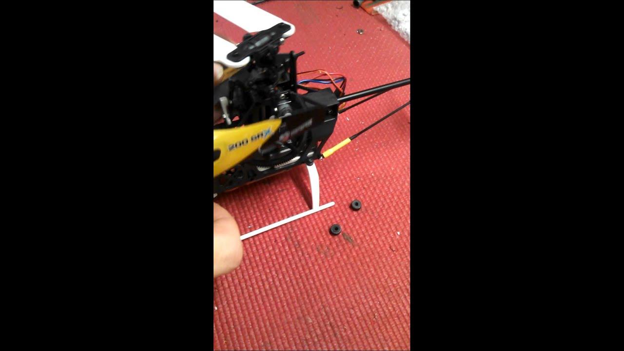 Blade 200SR X Screw on Canopy Mount & Blade 200SR X Screw on Canopy Mount - YouTube