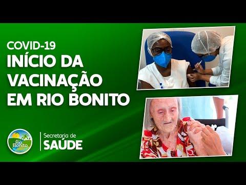 Início da campanha de vacinação em Rio Bonito