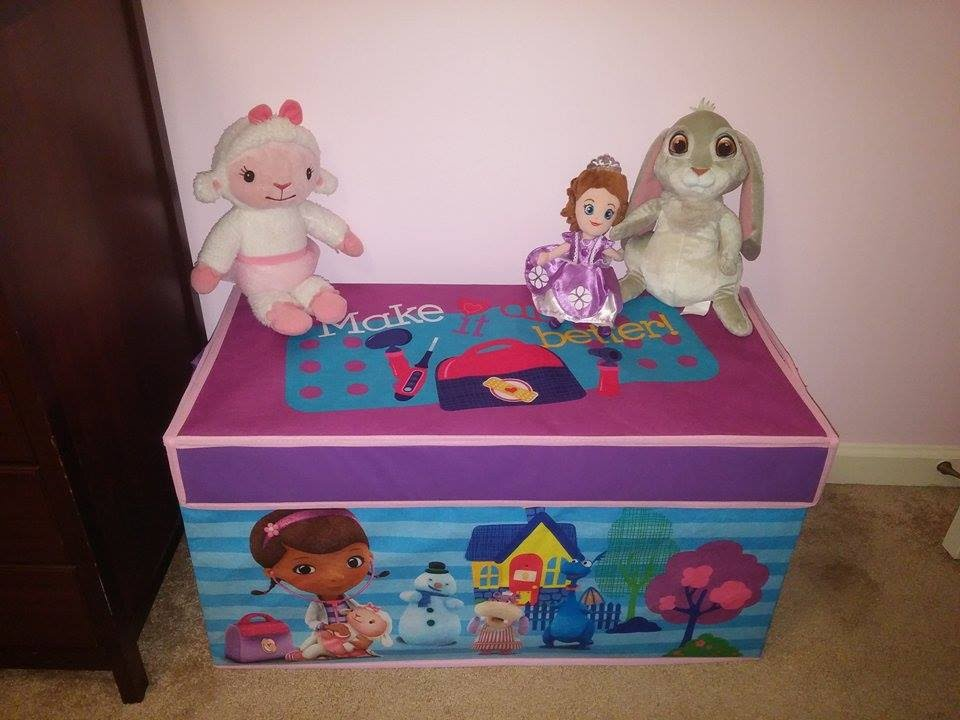 Disney Junioru0027s Doc McStuffins Collapsible Toy Chest Review   YouTube