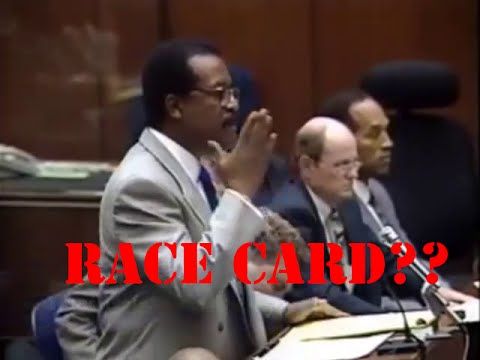 O J  Simpson Murder Trial   Tape Fights or playing the Race Card