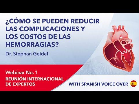¿Cómo se pueden reducir las complicaciones y los costos de las hemorragias? | Stephan Geidel | 2021